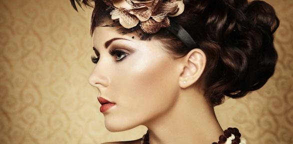 Создание вечернего образа, макияж, архитектура бровей встудии Maxsim Maria