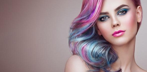 Стрижка, окрашивание, выпрямление волос в«Салоне красоты наКоломенской»