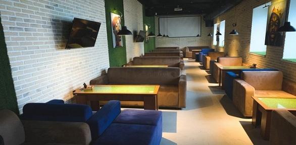 Напитки, паровые коктейли сподарком влаундж-баре Lights Lounge заполцены