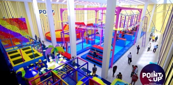 Посещение спортивно-развлекательной арены вкомплексе PointUp