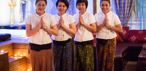 Тайская массажная программа всалоне ThaiWay