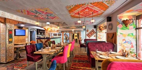 Блюда инапитки вдвух ресторанах Mangal &Grill
