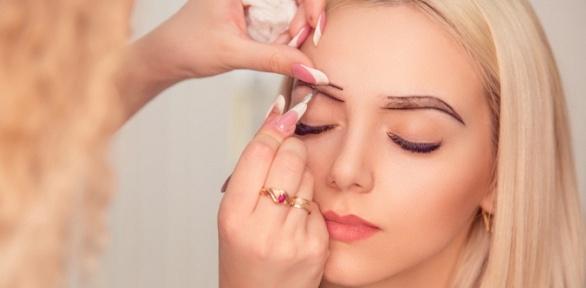 Перманентный макияж губ, век или бровей всалоне «Центр красоты»