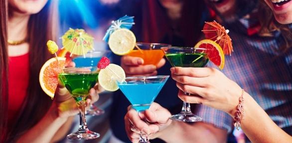 Паровая церемония счаем или коктейльная вечеринка вMartini Bar