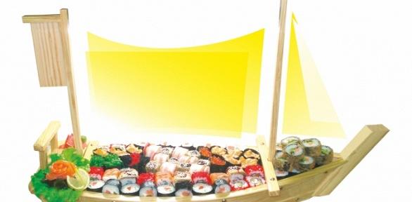 Суши, роллы, сеты ипицца отсети кафе «Факультатив» заполцены