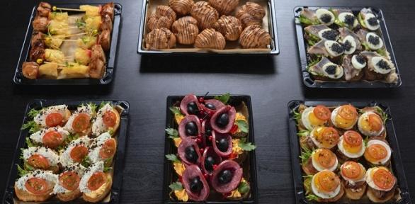 Доставка сета откомпании Ministerstvo Catering