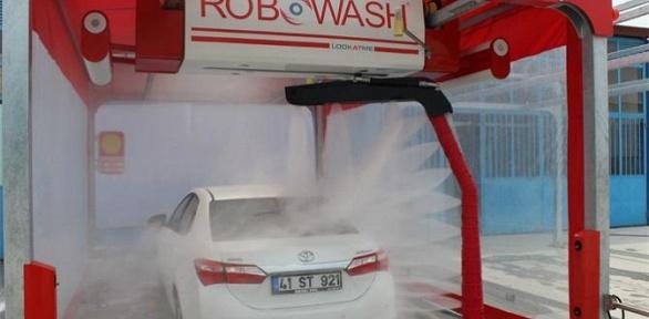 Бесконтактная автомойка наробот-мойке Robowash-Russia