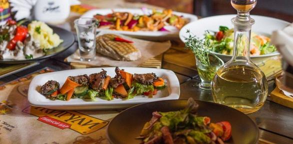 Блюда инапитки изменю бара «Жигули» заполцены