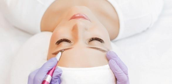 Ламинирование иокрашивание бровей встудии Nails Beauty