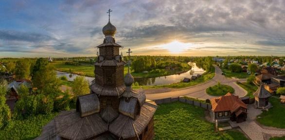 Тур погородам Золотого кольца России оттуроператора «Русь»