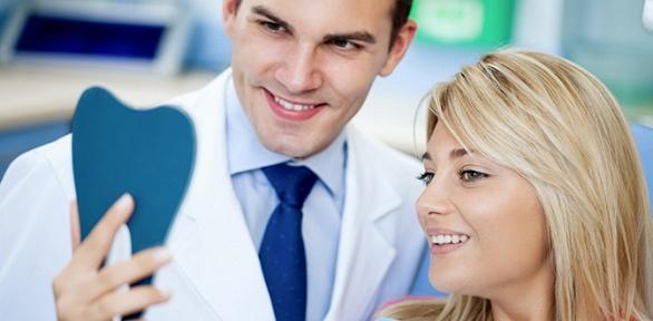 Чистка зубов встоматологии «Любимый доктор»