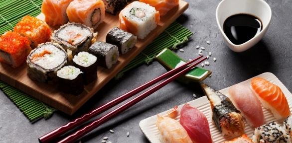 Суши-сет отслужбы доставки «Sushi.Есть»