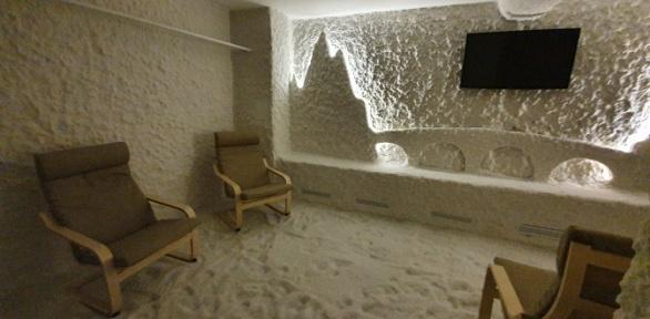 Посещение соляной пещеры «Дыши»