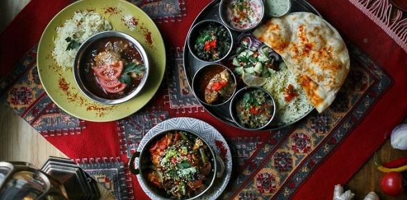 Ужин для двоих вресторане индийской кухни Garam Masala