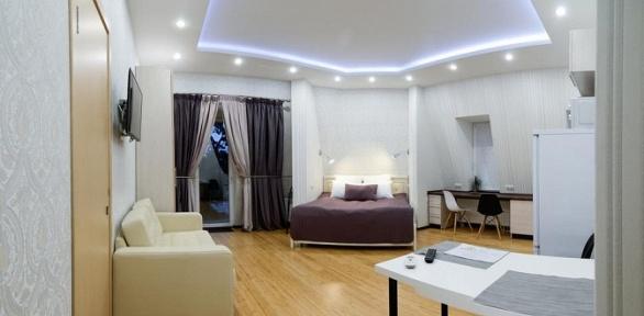 Отдых вномере или апартаментах вApart-hotel Olimp