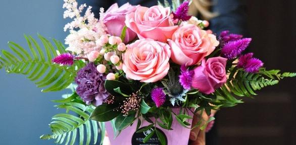 Букет изроз, цветочная композиция или авторская работа изцветов