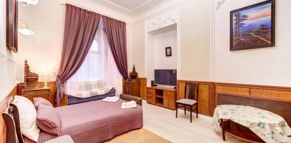 Отдых вцентре Санкт-Петербурга вномере мини-отеля «Алфея»