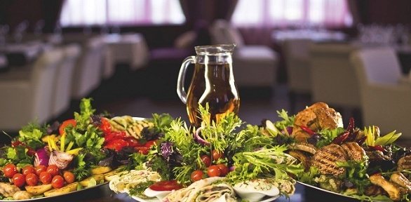 Европейский банкет для компании до 30 человек в ресторане Lowenbrau