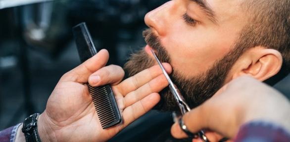 Стрижка, моделирование бороды вбарбершопе East Side
