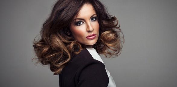 Прическа, укладка, макияж встудии красоты Goldy