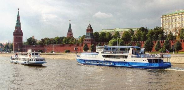Прогулка натеплоходе поМоскве-реке отгруппы компаний «РПК»