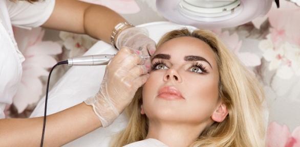 Перманентный макияж встудии красоты Sugar