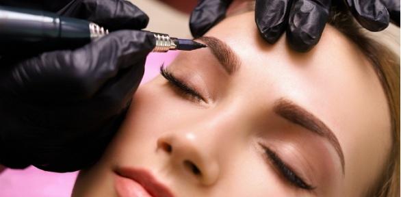 Перманентный макияж бровей, губ или век вSPA-салоне «Людмила бьюти»