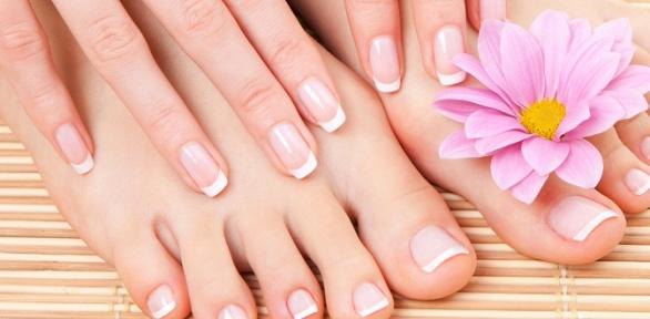 Маникюр или педикюр всалоне красоты Not Andjel Nails