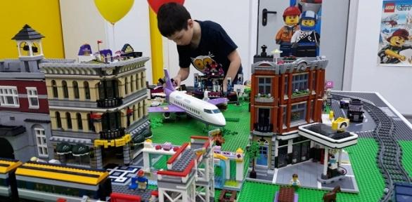 30или 90минут посещения лего-комнаты «Легоза»