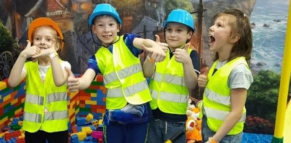 Посещение детского активити-парка «Восторг»