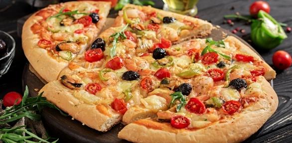 Всё меню навыбор отитальянской пиццерии Pomodoro Royal за полцены
