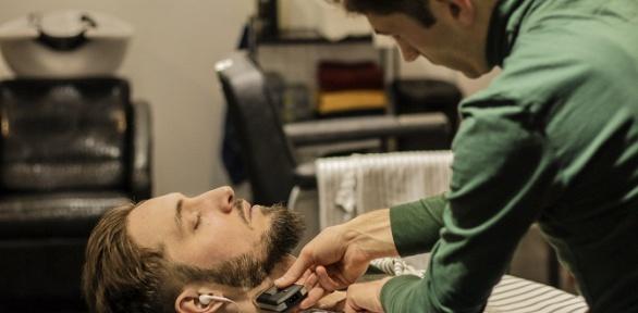 Мужская,детская стрижка, моделирование бороды вбарбершопе «Русак»