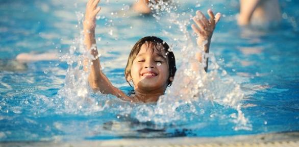 Обучение плаванию для детей вфилиале детского бассейна «Морской котик»