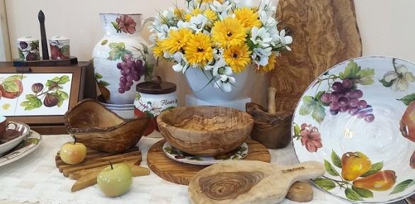 Набор кухонных принадлежностей изоливкового дерева