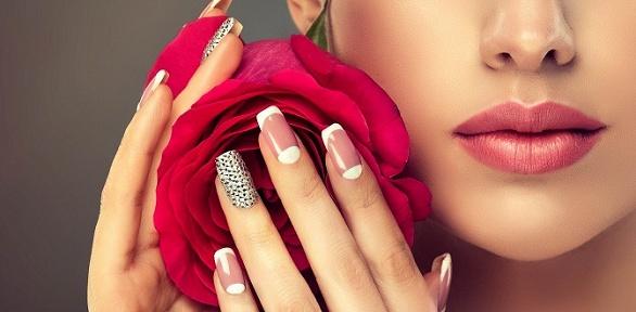 Маникюр, педикюр инаращивание ногтей всалоне «Отдел красоты»