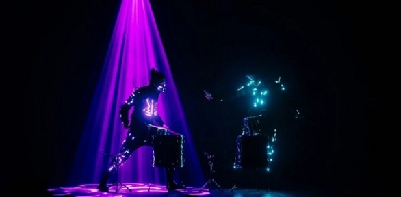 Интерактивное лазерное квест-шоу «Игра» заполцены