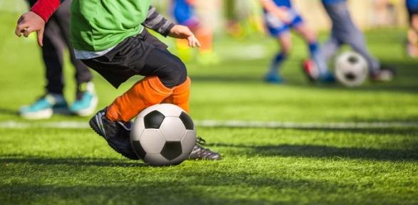 До8футбольных тренировок для детей от3до9лет вшколе «Чемпионика»