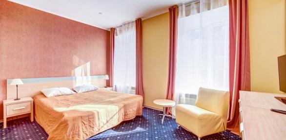 Отдых вцентре Санкт-Петербурга вбизнес-отеле Polikoff