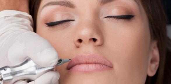 Перманентный макияж губ, век или бровей навыбор всалоне «Про тату»