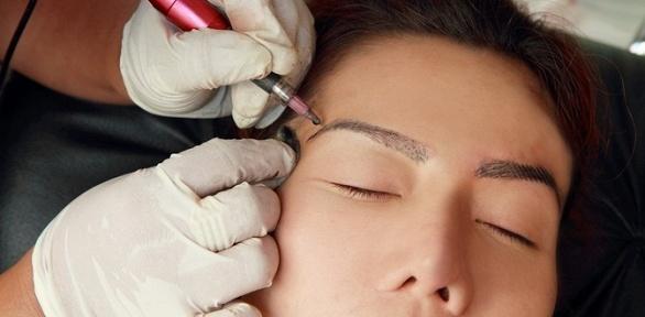 Перманентный макияж губ ибровей встудии косметологии OxBeauty