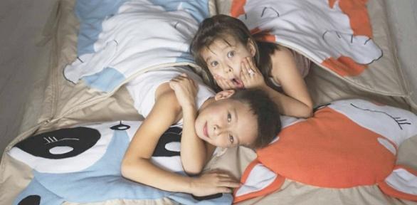 Детский спальник или плед-подушка навыбор