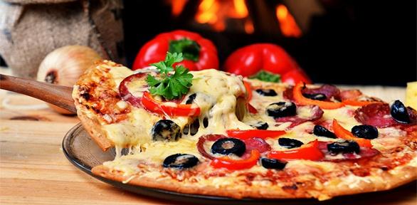 3, 4или 5кругов пиццы радиусом навыбор отслужбы доставки Mozzarello