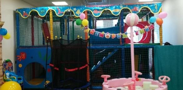 1час посещения детской игровой комнаты Baby Time