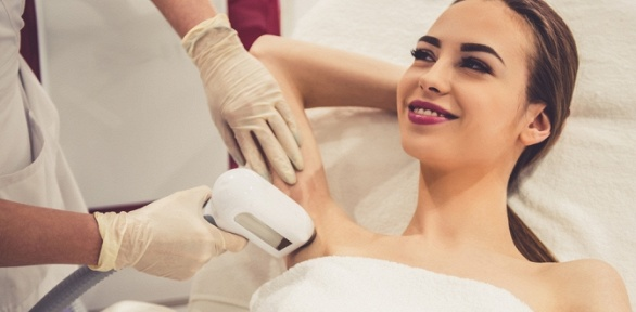 Аппаратная или фотоэпиляция встудии эстетической косметологии Beauty Life
