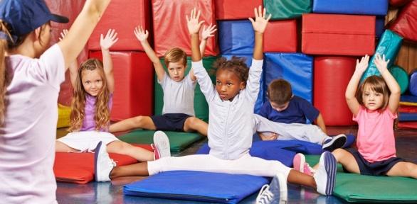 Занятия всети детских спортивных клубов «Дети Fit»