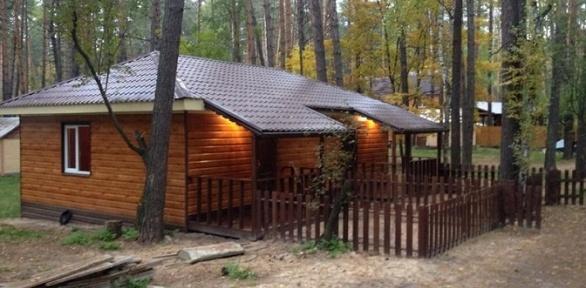 Отдых вБорском лесу напобережье реки Усманки набазе отдыха «Алмаз»
