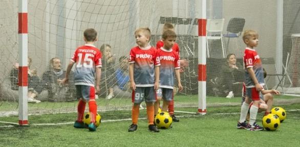 Занятия футболом вшколе для детей Profi