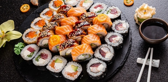 Сеты роллов отслужбы доставки Sushi Fun