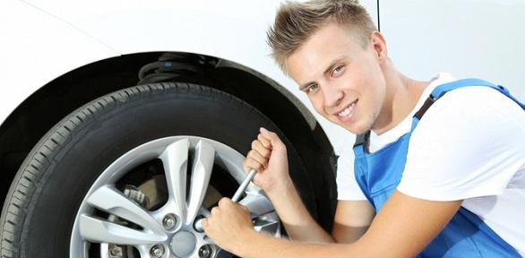 Шиномонтаж ибалансировка колес радиусом доR22 отсети «Авто-Плаза»