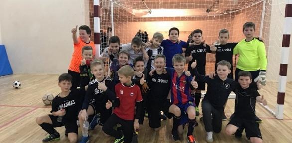 1 или 2 месяца занятий в детской футбольной школе «Алмаз»